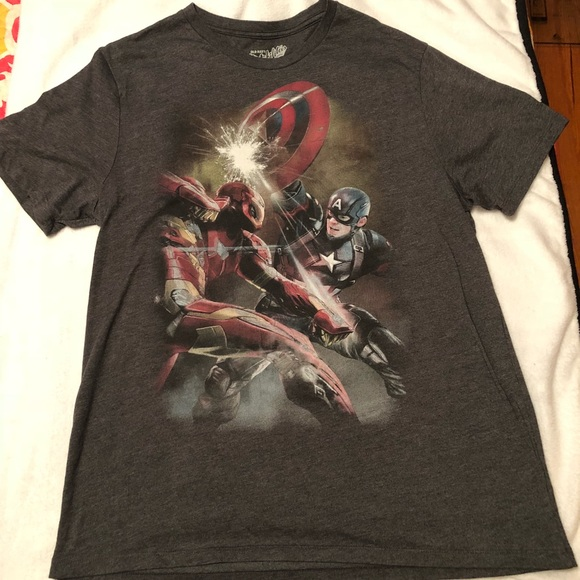 Old Navy Shirts Marvel Tshirt Poshmark